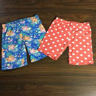 Buy 1 take 1-Carters Blue/Red Shorts
