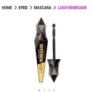 Wet N Wild Lash renegade mascara - Black