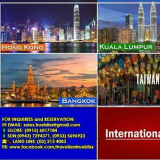 INTERNATIONAL PACKAGE ON SALE!!!