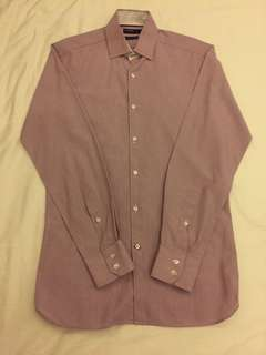Marks & Spencer Autograph maroon dotted long sleeves