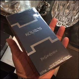 Authentic Original YSL Kouros Perfume 100ml $88 Limited Stock First Come First Served 😎👍
