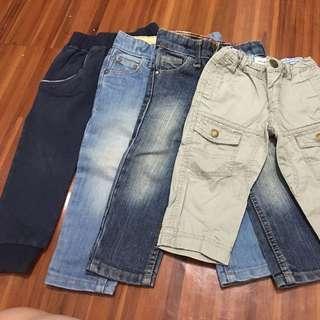 Pants Bundle Fits 12-24 Months
