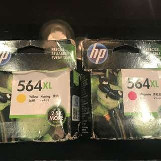 HP printer ink 墨水