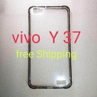 Vivo Y37 anti Shock anti Crash Transparent Case