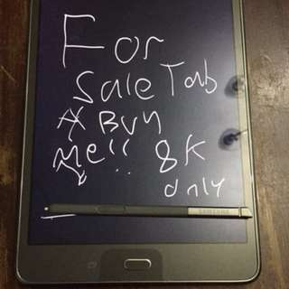 Samsung Galaxy Tab A With S pen 8k only peede swap sa aso