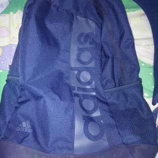 Purple ish Blue Adifas Bag