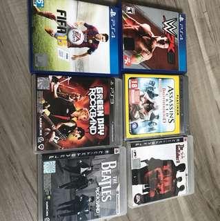 PS3 /PS4 Games