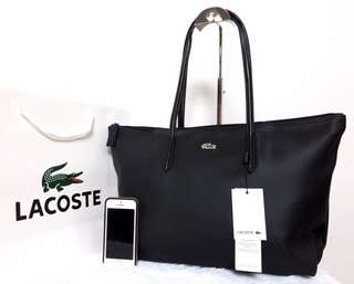 Black Lacoste Horizontal