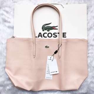 Light pink Lacoste Horizontal