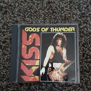 Kiss - Gods of Thunder Recorded Live in Europe 1984 (1992) CD