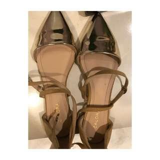 Cross Strap Ballerinas