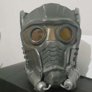 Star lord cosplay helmet. Wearable, eve foam materials