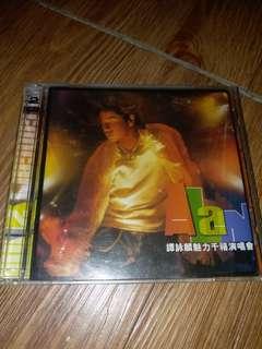 譚詠麟 魅力千演唱會 雙cd,微花 當年舊版