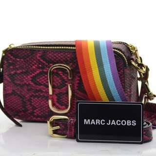 MARC JACOBS Snapshot Snake Bag*