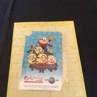 Minions Ez-link Card