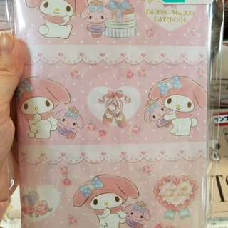 【日本代購】日本Sanrio My Melody 2018年記事簿Schedule Book