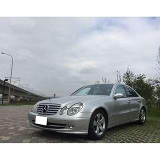 2003年Benz E320 免頭款