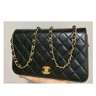 Authentic Chanel Classic Flap Bag