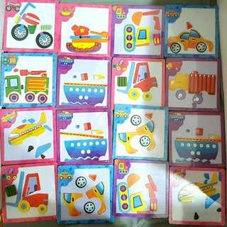 Magnetic Puzzle Set