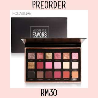 FOCALLURE WE CARE YOUR FAVOR EYESHADOW PALETTE CODE 01 BRIGHT LUX