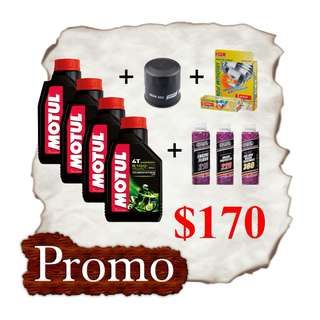 MOTUL 5100 x 4 Bottles Package