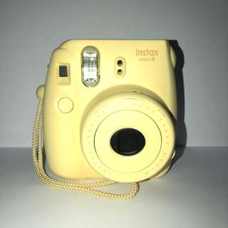 PRE-OWNED MINI 8 INSTAX CAMERA - YELLOW