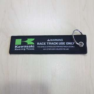 [Clearance] Kawasaki Racing Team Keychain