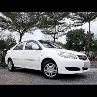 全額貸專區~2010年豐田VIOS 1.5 一手車 里程只有4萬 里程保證