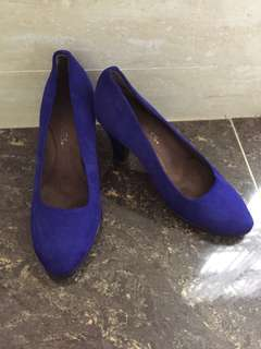 Aerosoles blue high heels