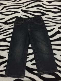 Denim pants 2-3 y o. Perfect condition. Almost new