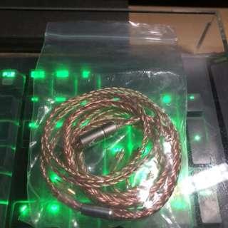 八絞單晶銅 2.5平衡頭