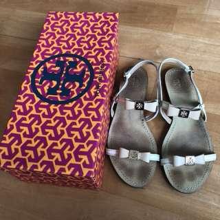 🎀Tory Burch flat sandal 6.5 蝴蝶涼鞋🎀