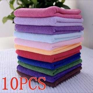 10pcs/towels