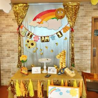SUNSHINE PARTY THEME - Decoration items