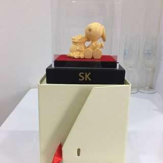 Gold Plated Gifting Snoopy(999 Gold)