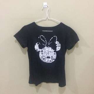 Black Mickey Mouse Shirt