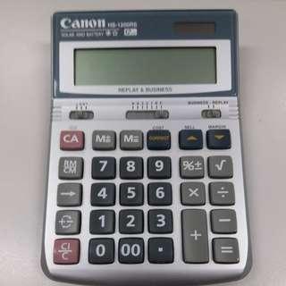 Canon model no. HS-1200RS 計數机  12-digits 如圖, 9乘幾新, 操作一切正常