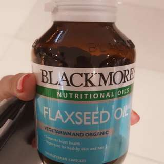 Blackmores亞麻籽油植物奧米加