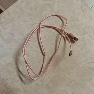 Samsung USB 線(粉色)