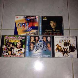 5 pcs OPM CD's Collectibles (Compilation Bersion)