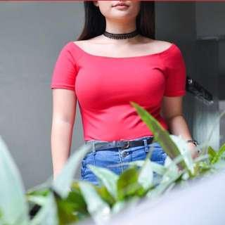 Red crop top (SUPER SALE!!!)