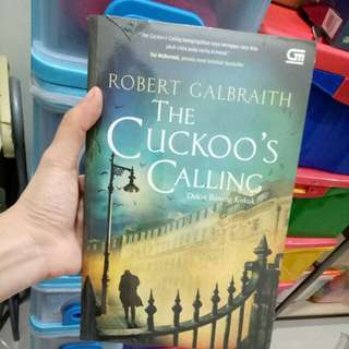 The cuckoo's calling versi Indonesia