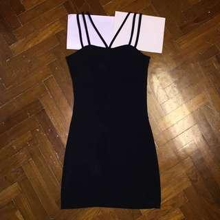 STRAPPY CLUB DRESS