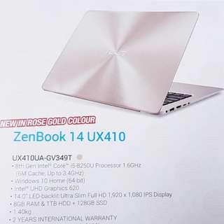 Latest Asus Zenbook UX410UA-GV349T