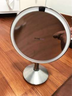 Simplehuman Sensor Mirror with 5x magnification