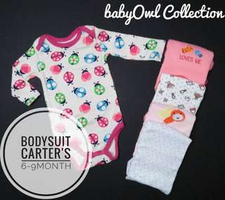 Carter's bodysuits long sleeve 5 in 1