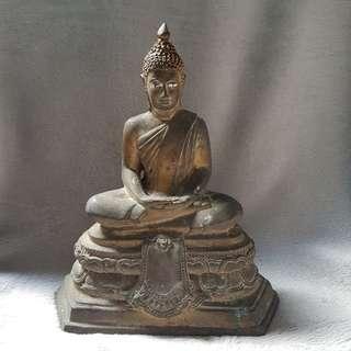 Phra Bucha, Pang Samathi, Wat Don Chedi, Suphanburi