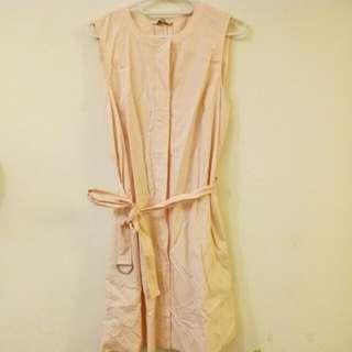 🚚 Gap 造型 洋裝 淡粉