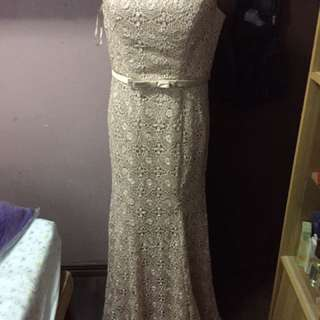 For Rent Mother/ninang Gown