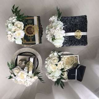 Exclusive Wedding Trays/ Gubahan